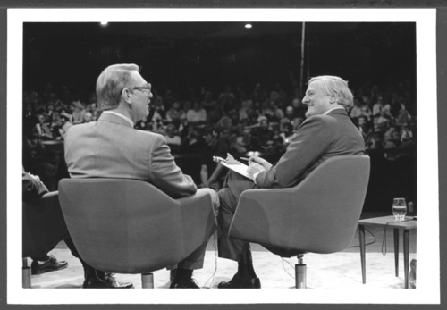 William F. Buckley and W. Walter Menninger, M.D. - Page