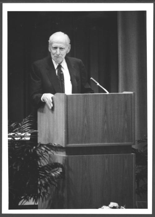 Murray Bowen, M.D. at Menninger School of Psychiatry graduation - Page