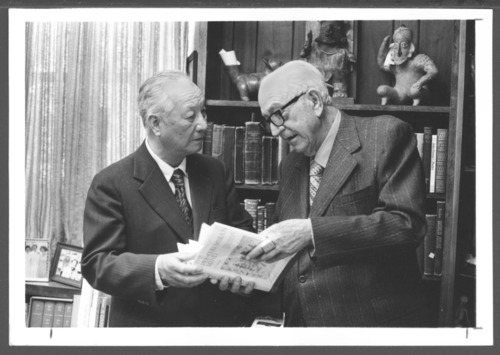 Wu Chen, with Karl Menninger, M.D. - Page