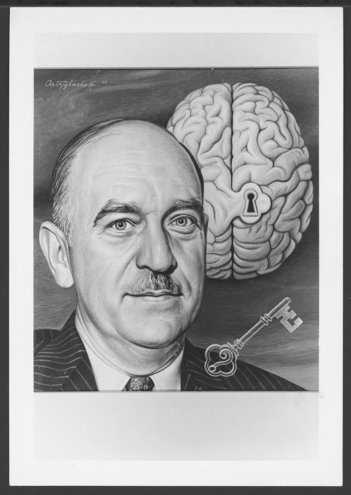 William C. Menninger, M.D. on front cover of Time magazine - Page