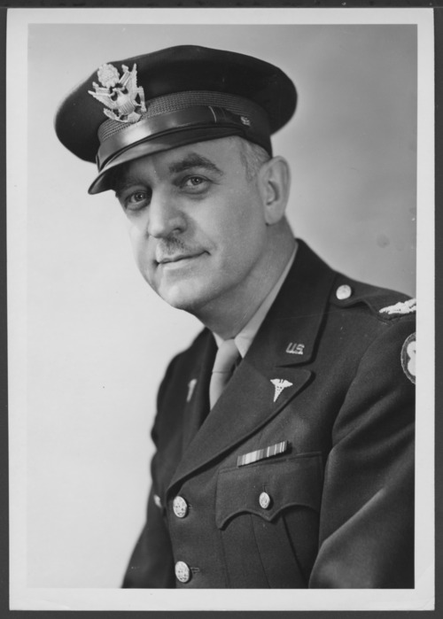 William C. Menninger, M.D., in Army uniform - Page