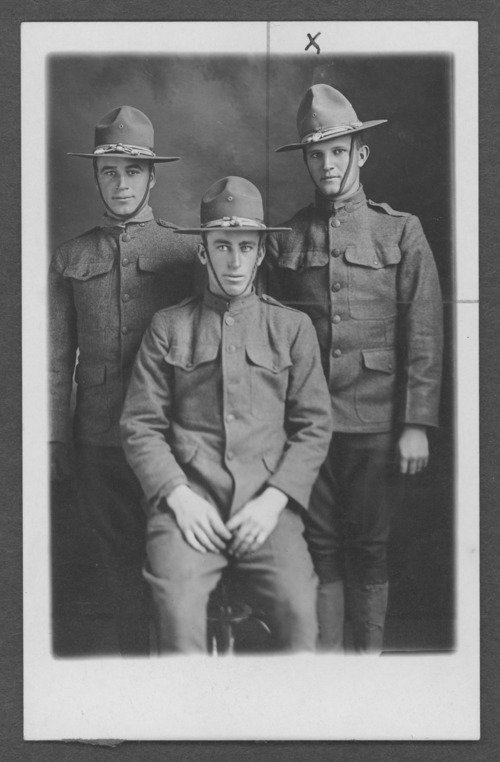 Russell W. Blackburn, World War I soldier - Page