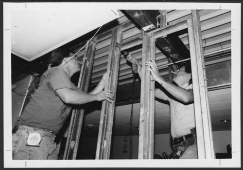 Construction at Menninger Clinic, Topeka, Kansas