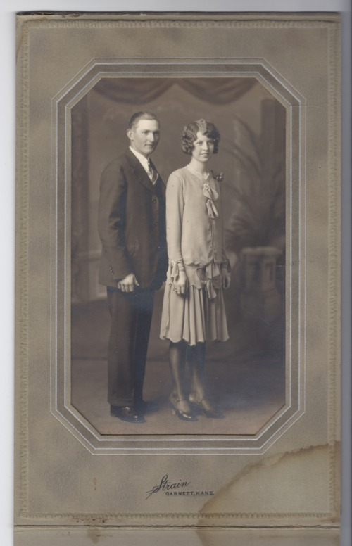 Marie Boyles and Ira Henderson wedding portrait - Page