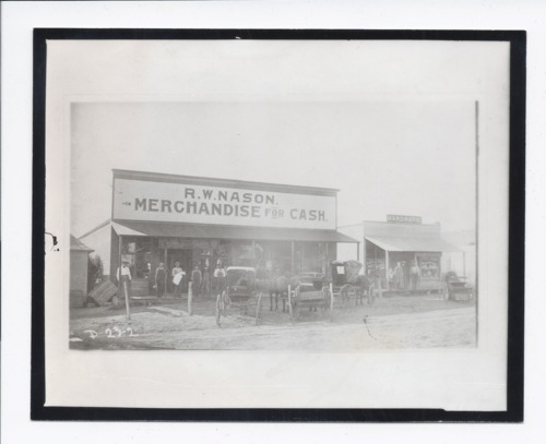 R.W. Nason business, Rossville, Kansas - Page