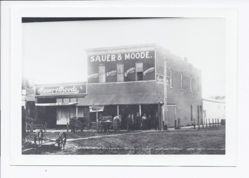 Sauer & Moode business, Rossville, Kansas - Page