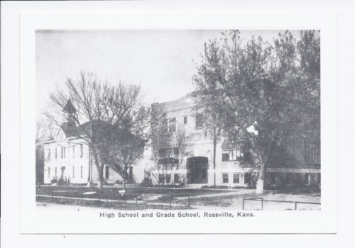 Grade school and high school, Rossville, Kansas - Page