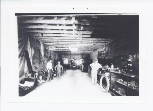 Howard's Garage, Rossville, Kansas - Page