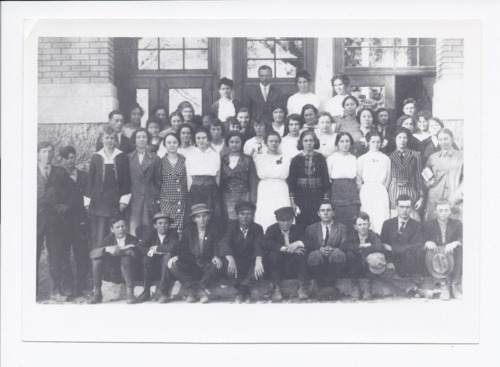 Students and teachers, Rossville, Kansas - Page