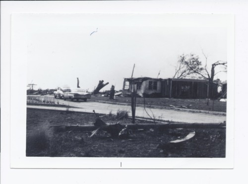 Joe Campbell home after tornado, Rossville, Kansas - Page