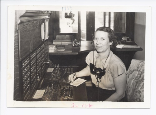 Velda O'Donnell, telephone operator, Rossville, Kansas - Page