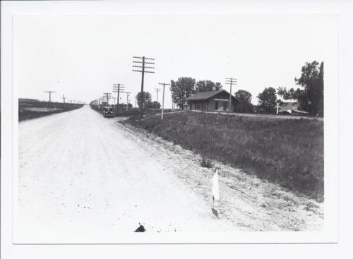 Golden Belt road at Kingsville, Kansas - Page