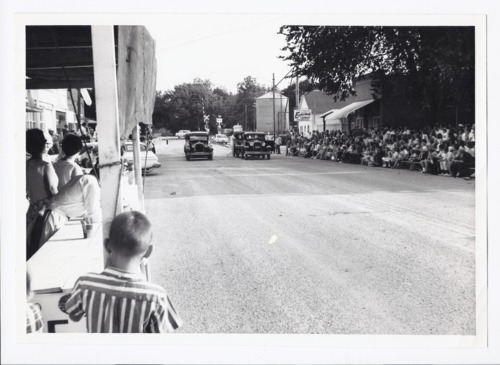 Event on main street, Rossville, Kansas - Page
