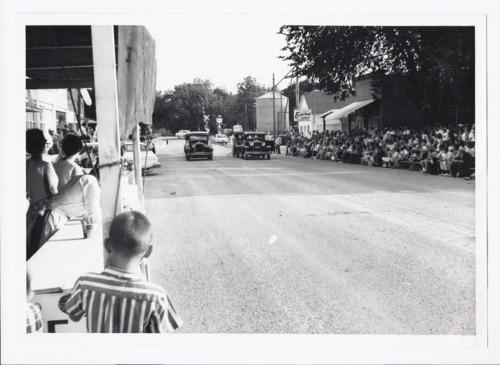 Event on main street, Rossville, Kansas - Page