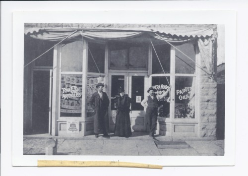 Opera House Pharmacy, Rossville, Kansas - Page
