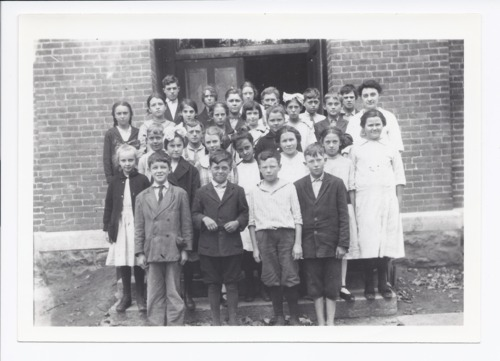 Students and their teacher, Rossville, Kansas - Page