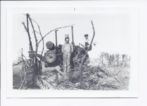 Albert and Emile Martinek and their 1917 Mogul tractor, Rossville, Kansas - Page