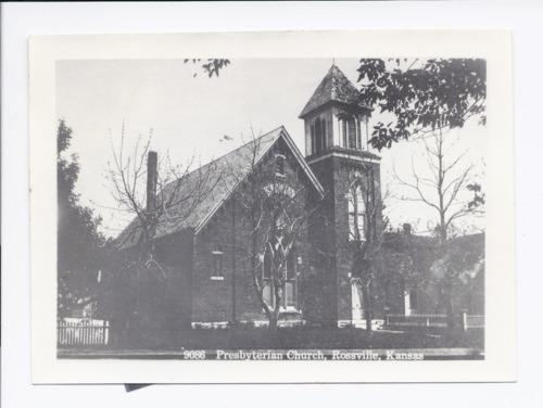 Presbyterian church, Rossville, Kansas - Page