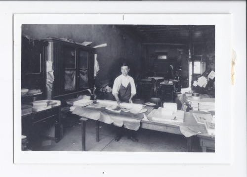 Peter Navarre's office, Rossville Reporter, Rossville, Kansas - Page