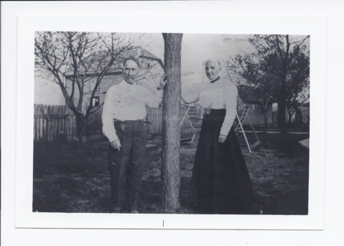 Mr. and Mrs. Henry and Mary Ford, Rossville, Kansas - Page