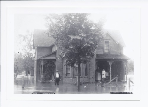 Stratton home, flooded, Rossville, Kansas - Page
