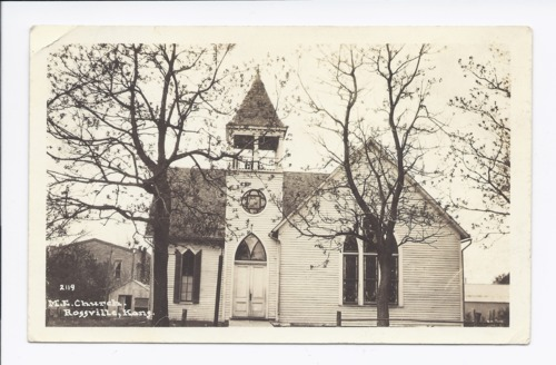 Methodist Episcopal Church, Rossville, Kansas - Page
