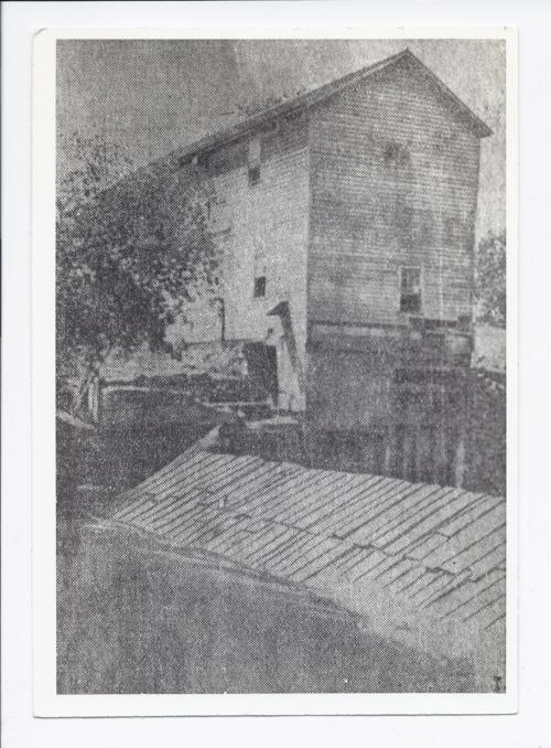 Cedar Bluff Mill, Rossville, Kansas - Page