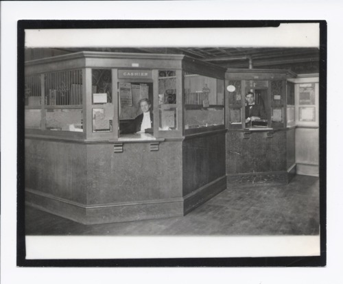 Mary E. Vawter and Clarence Ernest Gresser in Peoples State Bank, Rossville, Kansas - Page