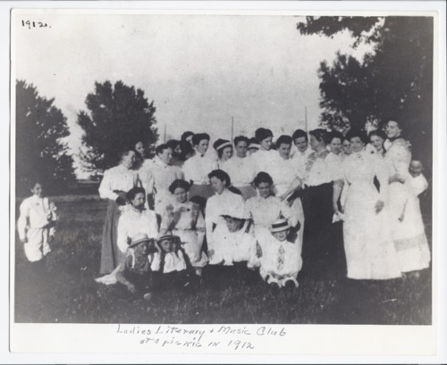 Ladies literary and music club, Rossville, Kansas - Page