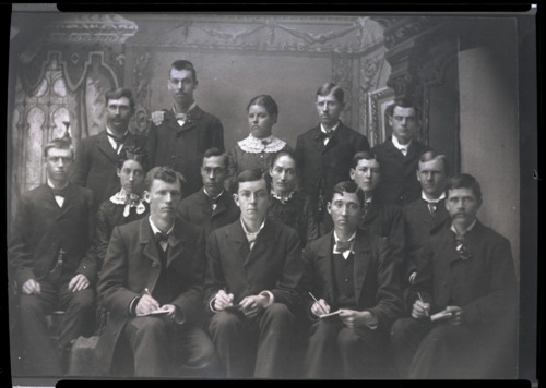 Class at Central Normal College, Indiana - Page