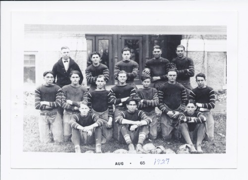 Rossville High School football team, Rossville, Kansas - Page