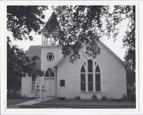 Methodist church, Rossville, Kansas - Page