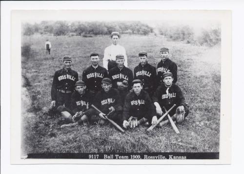 Rossville baseball team, Rossville, Kansas - Page