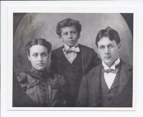 Miller family portrait, Rossville, Kansas - Page