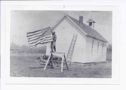 One-room school house, Rossville, Kansas - Page