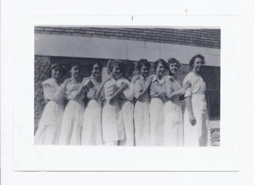 Rossville High School cooking class, Rossville, Kansas - Page