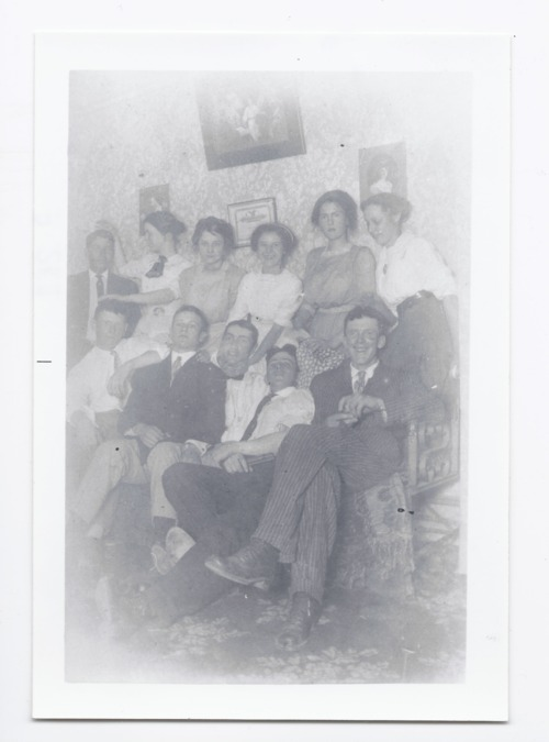 Group of young men and women, Rossville, Kansas - Page