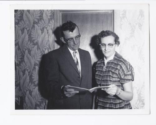 Bennie Horak and Emily Dodge, Delia, Kansas - Page