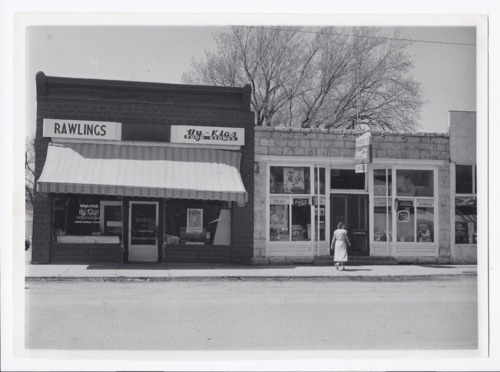 Hy-Klas Food Stores and Hurley's Sundries stores, Rossville, Kansas - Page