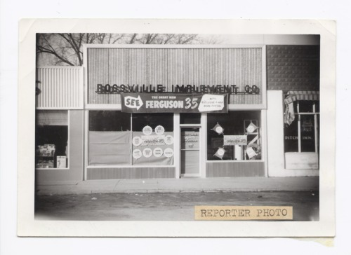 Rossville Implement Company, Rossville, Kansas - Page