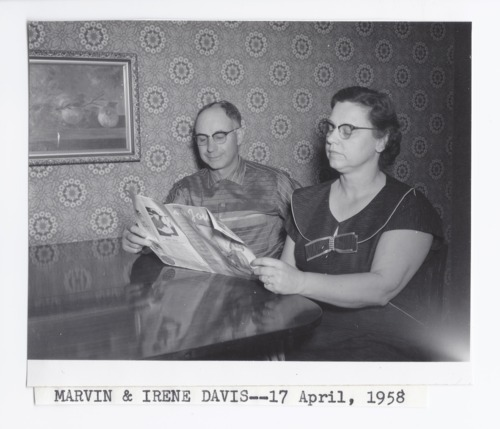 Marvin and Irene Davis, Rossville, Kansas - Page