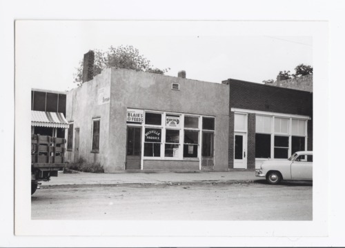 Main street businesses, Rossville, Kansas - Page