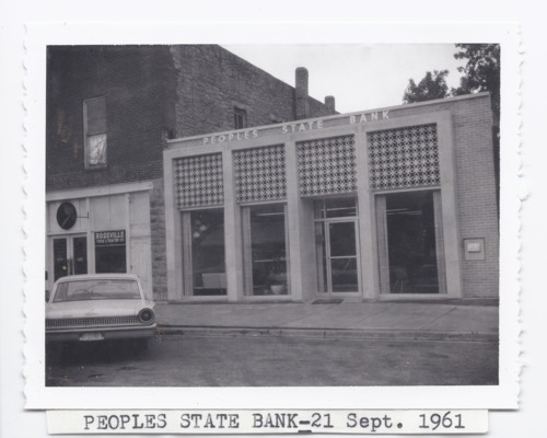 Peoples State Bank, Rossville, Kansas - Page