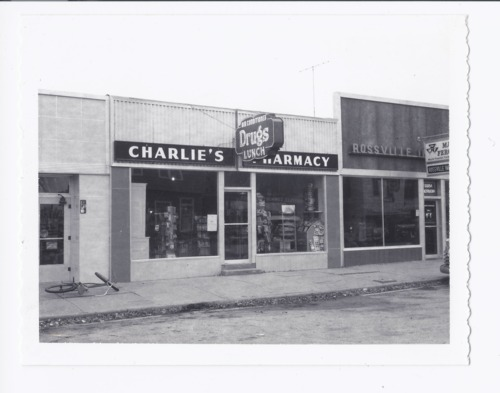 Charlie's Pharmacy, Rossville, Kansas - Page