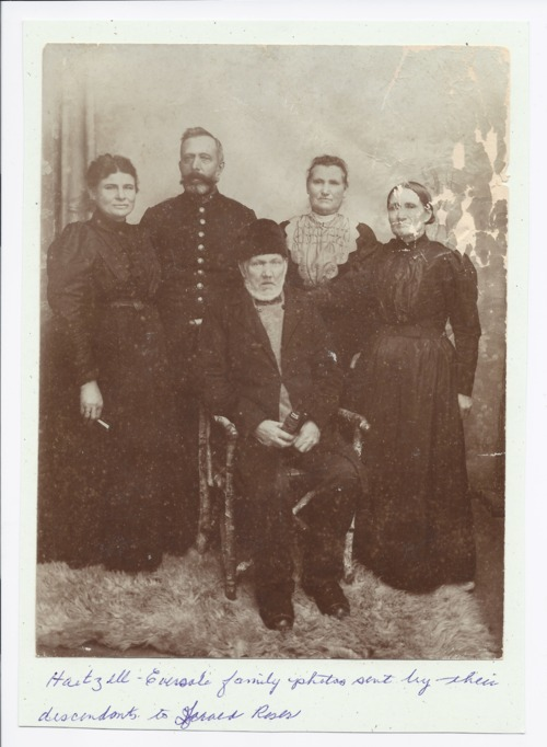 Hartzell-Eversole family, Rossville, Kansas - Page