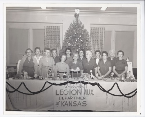 American Legion Auxiliary ladies, Rossville, Kansas - Page