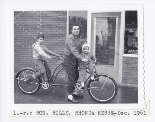 William S. Hesse and his kids, Rossville, Kansas - Page