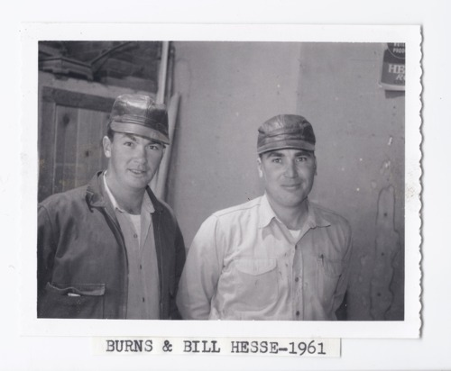 Burns and Bill Hesse, Rossville, Kansas - Page