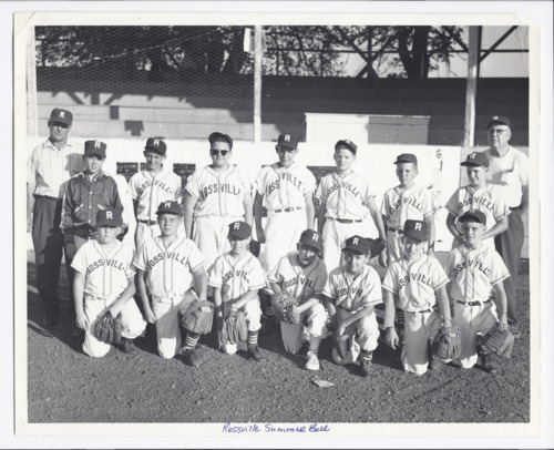 Summer baseball team, Rossville, Kansas - Page