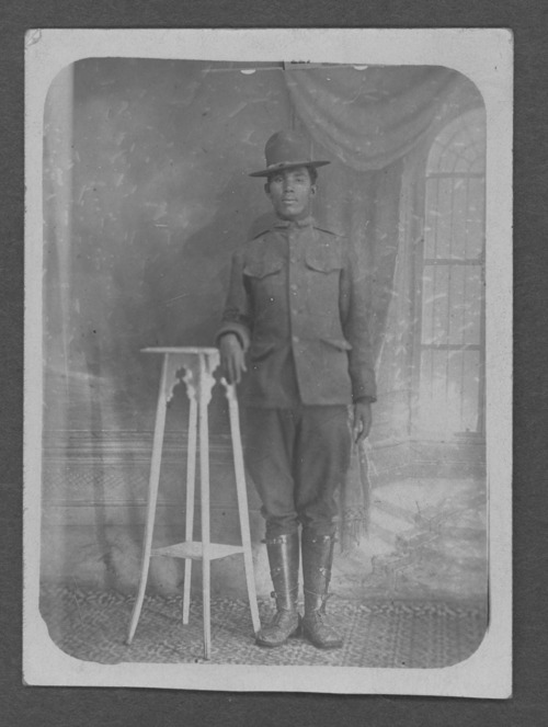 Albert Thompson, Jr., World War I soldier - Page